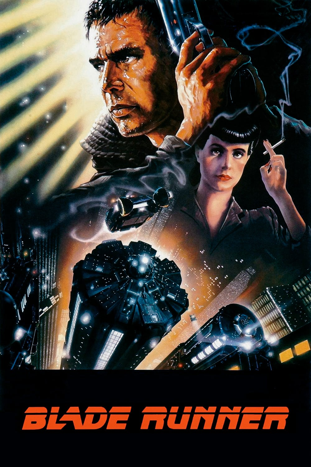 "Poster for the movie ""Blade Runner"""