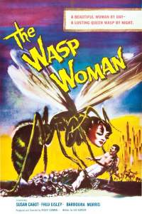 """Poster for the movie """"The Wasp Woman"""""""