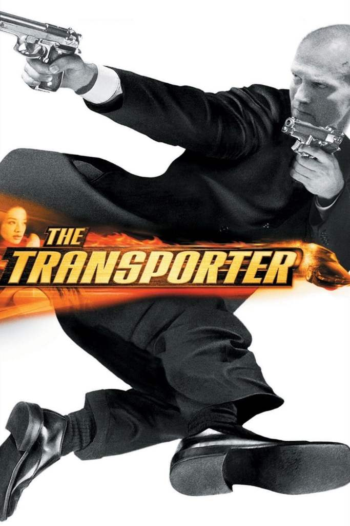"""Poster for the movie """"The Transporter"""""""