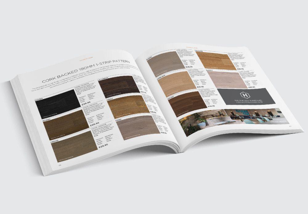 Havwoods Main Catalogue Cork Backed Spread