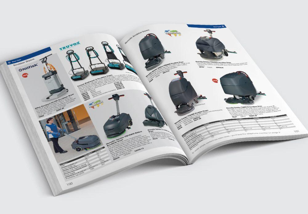 Jangro Catalogue Floor Care Spread