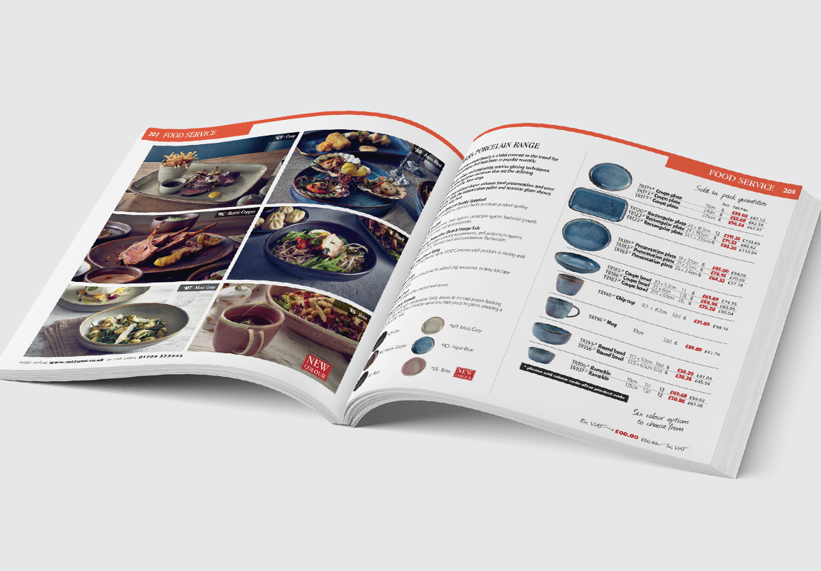 Russums Catalogue Food Service Spread