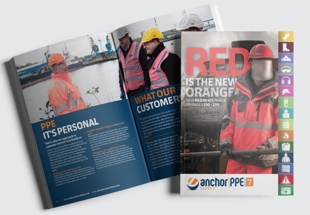 Anchor Catalogue Cover and Intro Spread