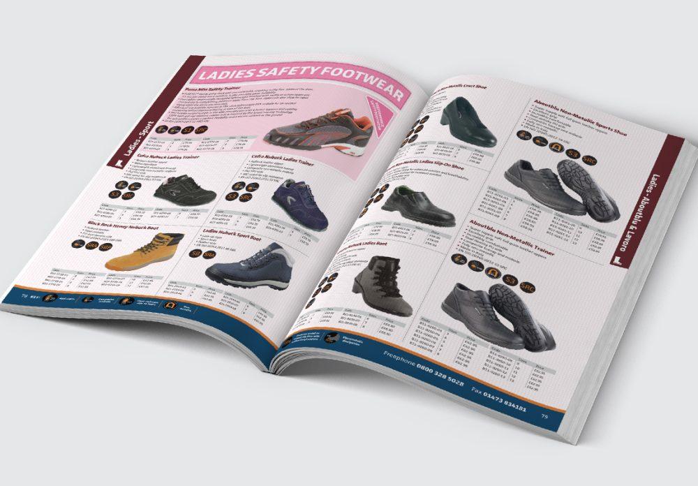 Anchor Catalogue Footwear Spread