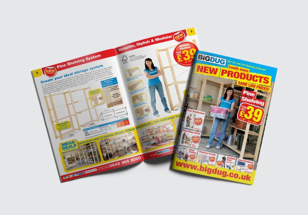 BiGDUG B2C Brochure Cover and Spread