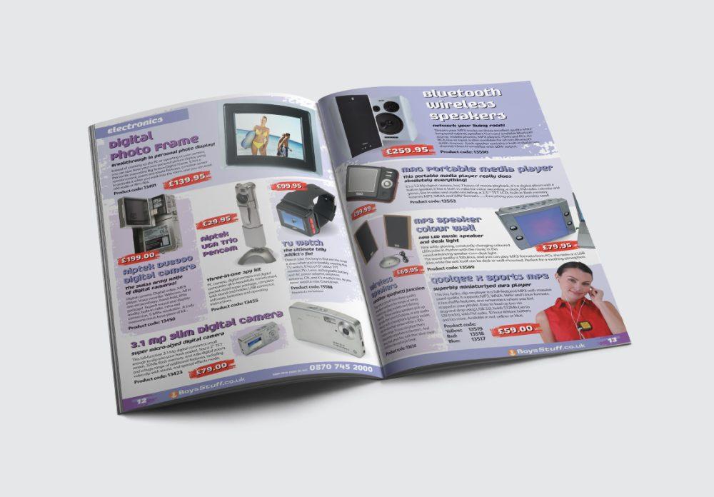 BoysStuff Brochure Electronics Spread
