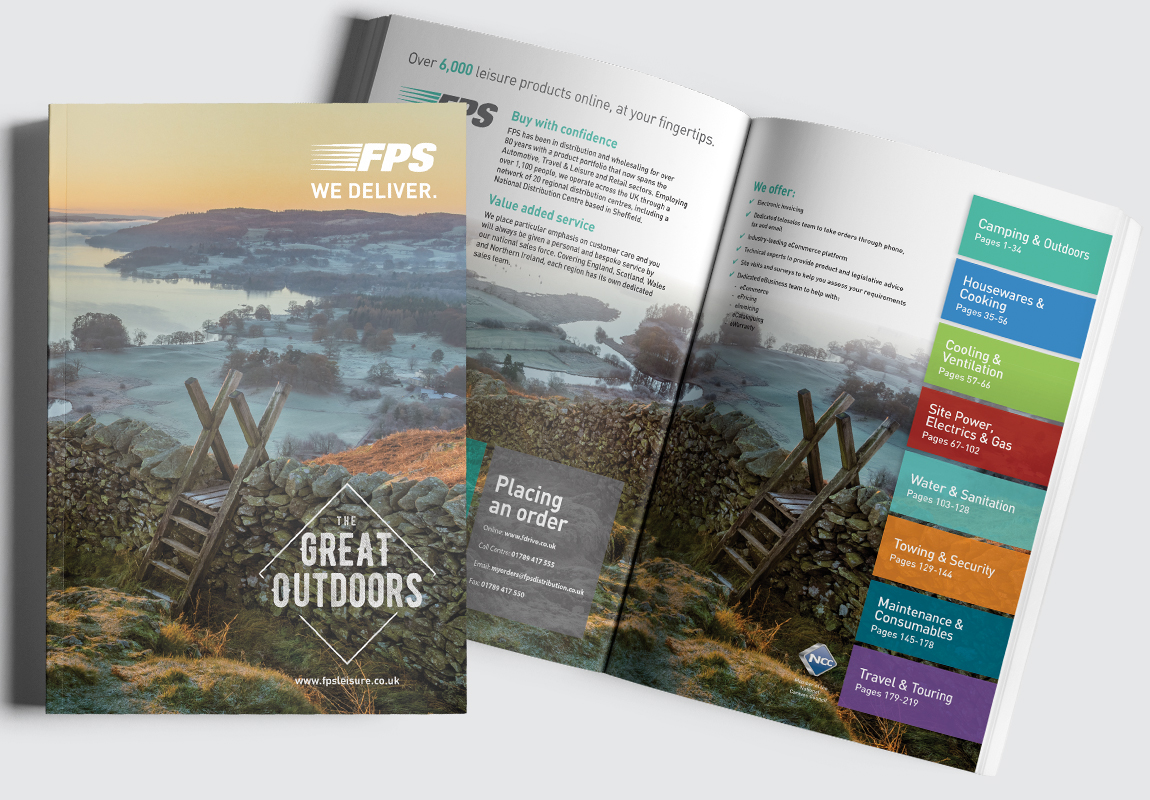 FPS Leisure Catalogue Cover and Intro Spread