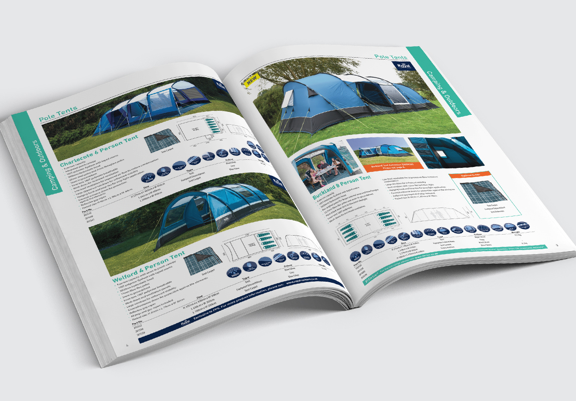 FPS Leisure Catalogue Camping & Outdoors Spread