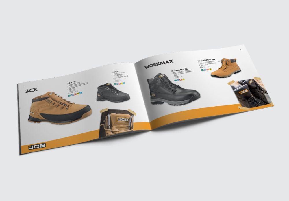 JCB Workwear Brochure Boots Spread