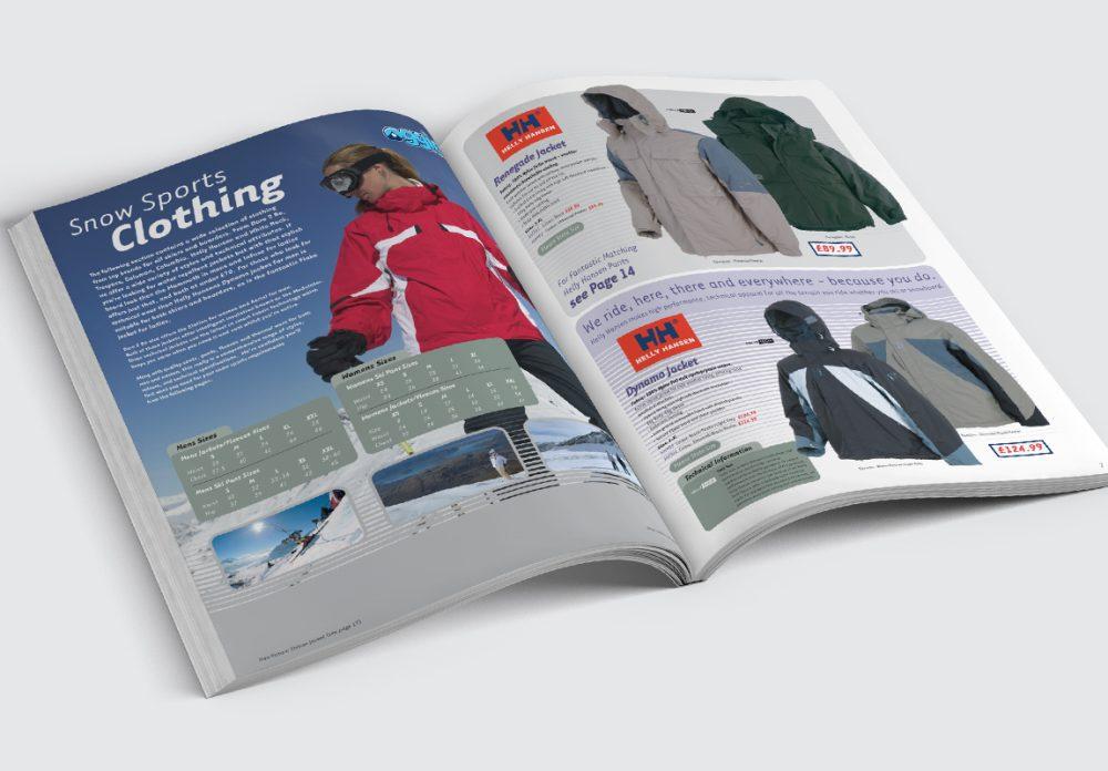 Oggie Snowsports Catalogue Jackets Spread 1