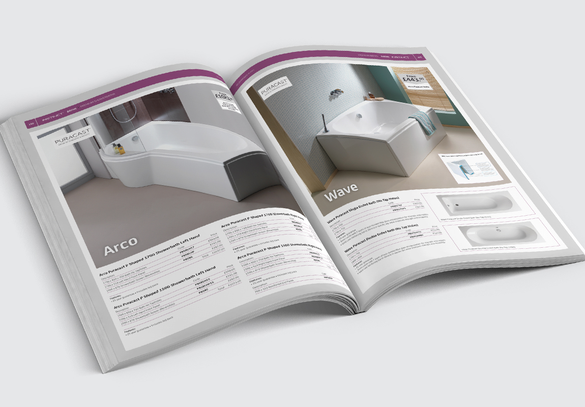 PHG Bathrooms Catalogue Baths Spread