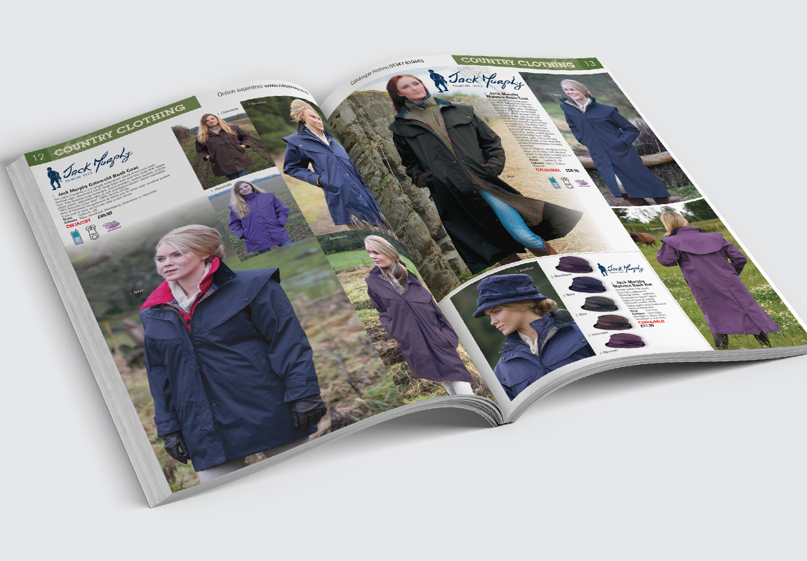 RideAway Catalogue Country Clothing Spread