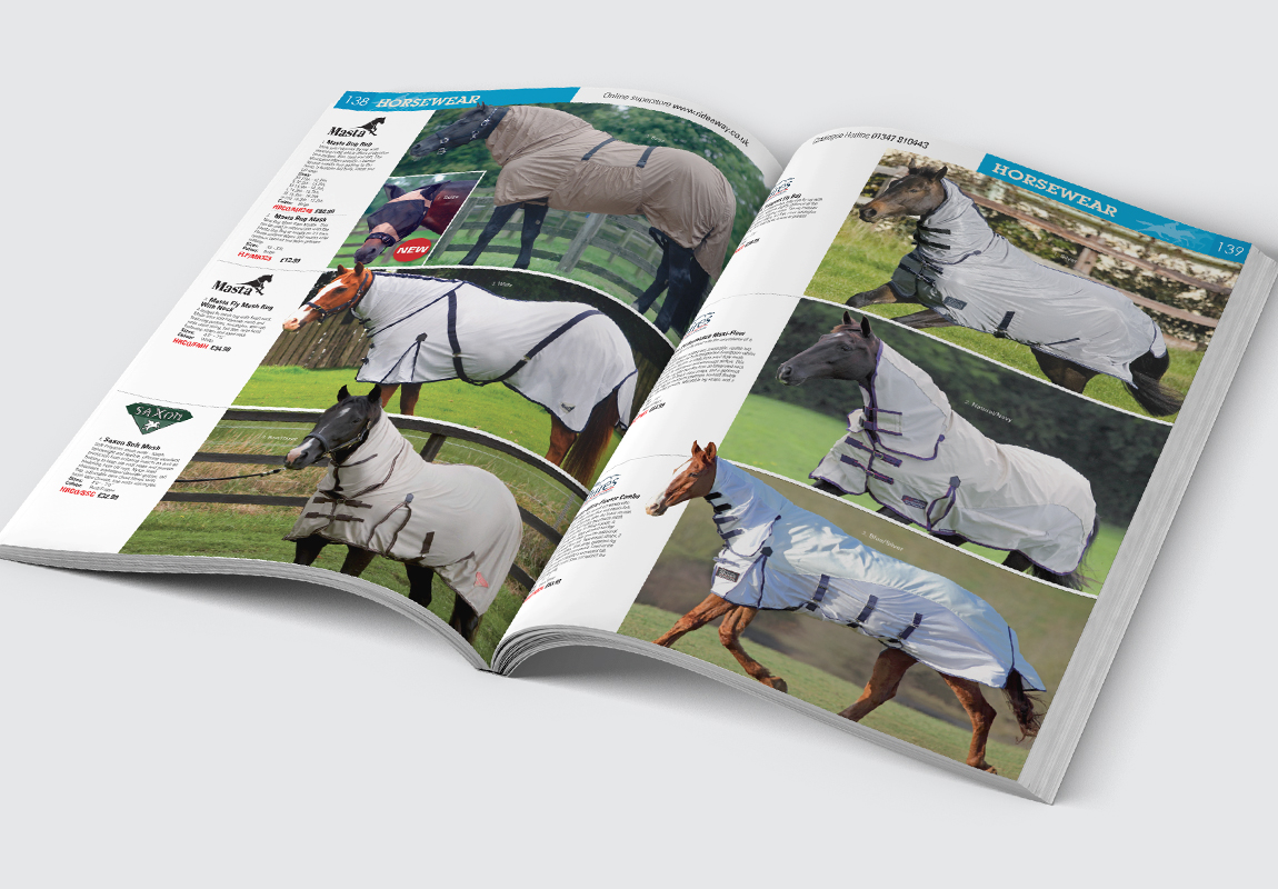 RideAway Catalogue Horsewear Spread
