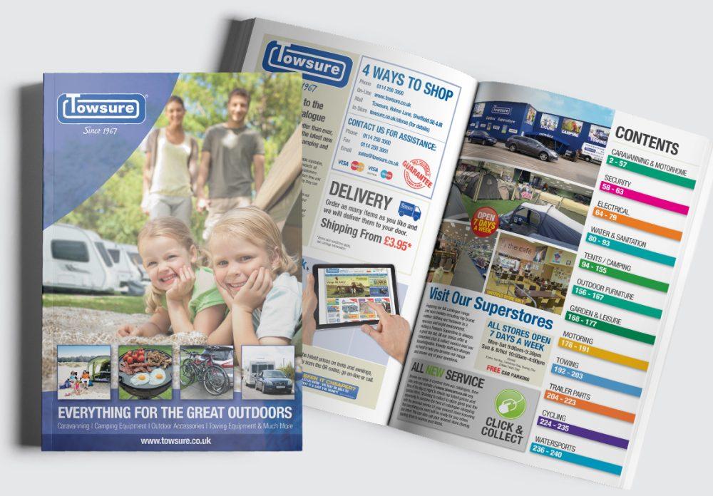 Towsure Catalogue Cover and Intro Spread