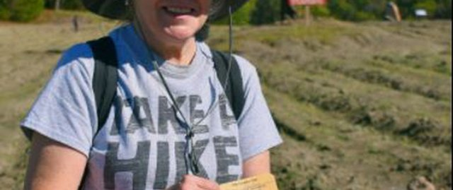 During a recent visit to the Crater of Diamonds State Park, Noreen Wredberg of Granite Bay,...