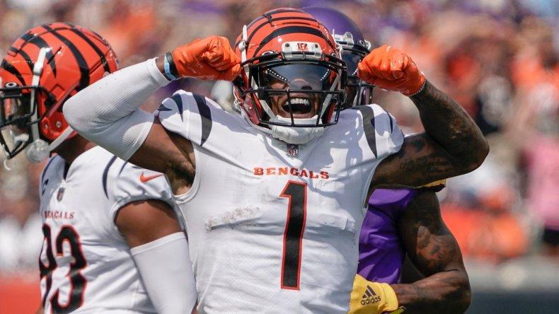 Former LSU Tiger Ja'Marr Chase shines in NFL debut