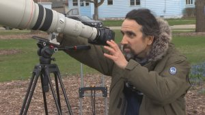 A local nature photographer gaining national attention
