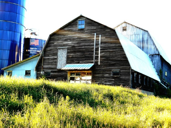 Barn Abstract 2