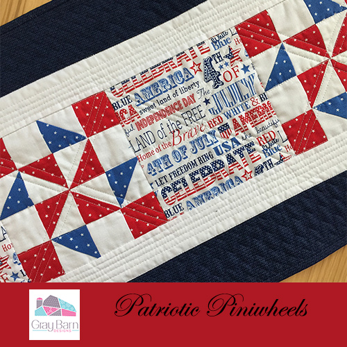 Tremendous Patriotic Table Runner Free Pattern Gray Barn Designs Home Interior And Landscaping Eliaenasavecom