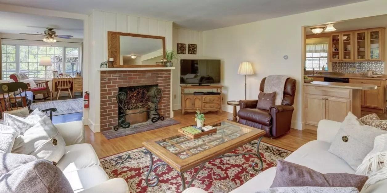 Living room on Dana Road