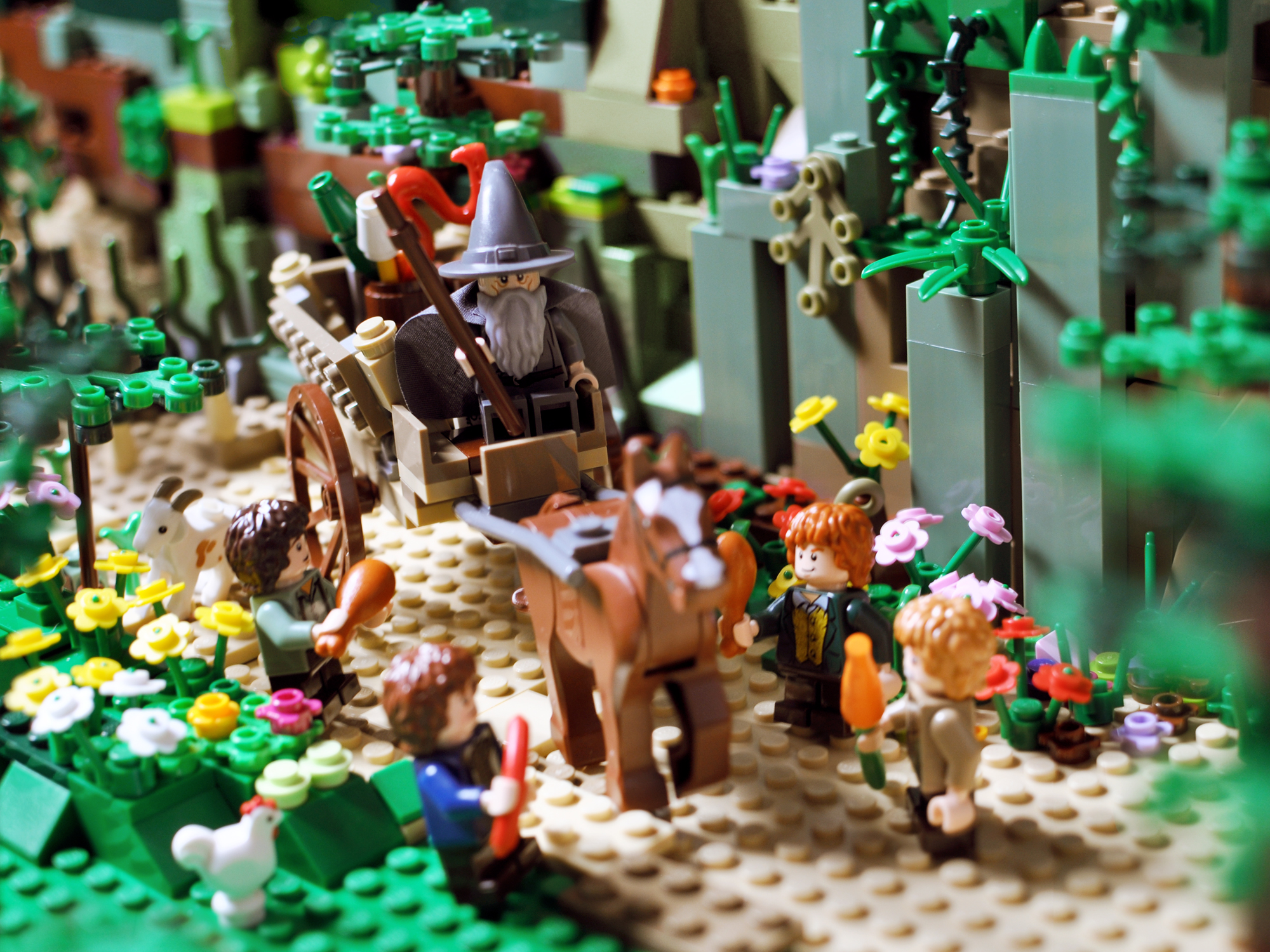 Lord of the Rings in Lego: Part One
