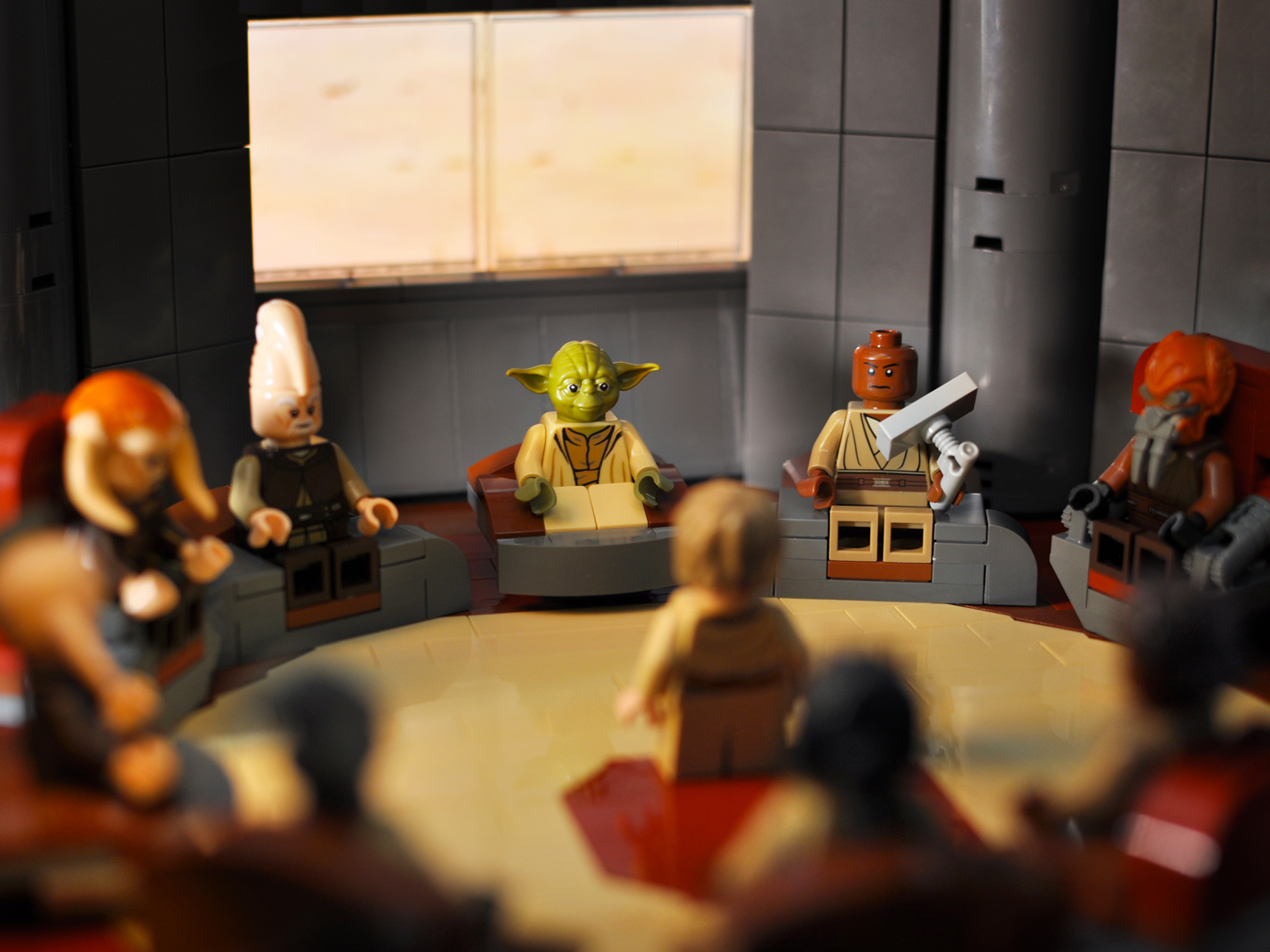 A look at the Lego Star Wars minifigures from 2012.
