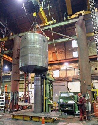 Steel Fabrication - Heavy Wall Rolling