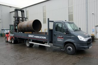 Steel Fabrication - 3-6m Long Can