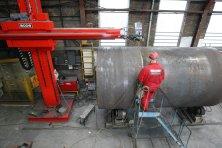 Steel Welding - 7M x 7M Column & Boom / Sub Arc Welding