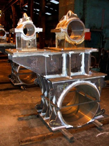 Steel Fabrication - Piggy Back Clamp Assembly