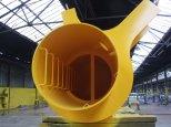 Steel Fabrication - Crane Pedestal