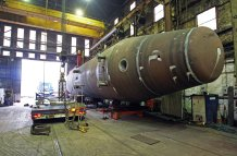 Steel Fabrication - Tidal Generation Tubular/Heavy Lift Capacity