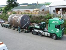 Large Tubular - Mixing Tank