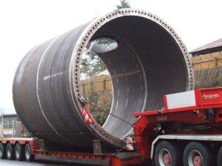 Large Tubular - Offshore Turbine Transition Section