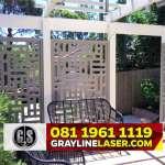 081 1961 1119 GRAYLINE LASER > Pagar Laser Cutting Jakarta Pusat