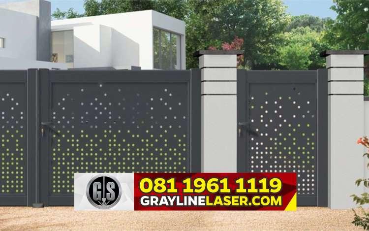 Pintu Pagar Laser Cutting Jakarta Selatan