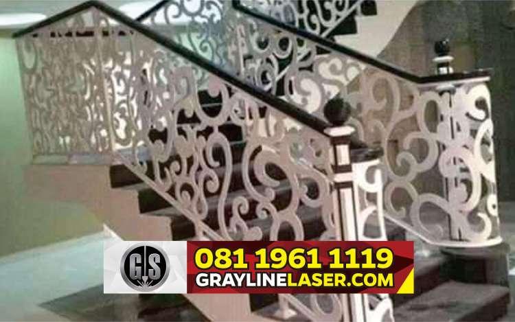081 1961 1119 > GRAYLINE LASER | Railing Tangga Laser Cutting Cilodong Depok
