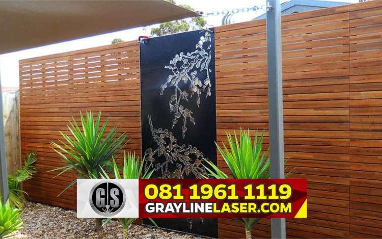Pintu Garasi Laser Cutting Depok