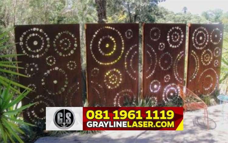 Pintu Pagar Laser Cutting Tangerang