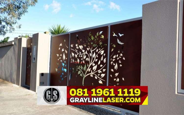 Pintu Pagar Laser Cutting Jakarta Timur