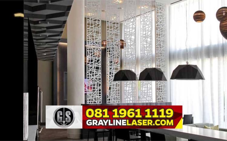 Pembatas Ruang Laser Cutting Jakarta Pusat