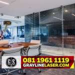 081 1961 1119 > GRAYLINE LASER | Pembatas Ruang Laser Cutting Bogor