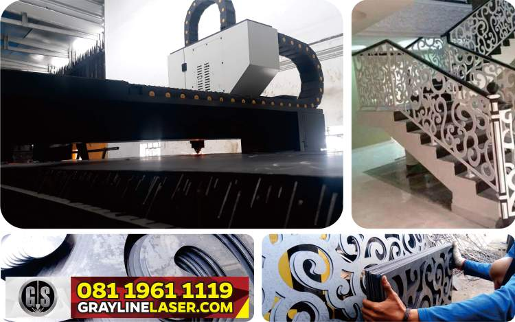 081 1961 1119 > GRAYLINE LASER | Railing Tangga Laser Cutting Kebon Jeruk