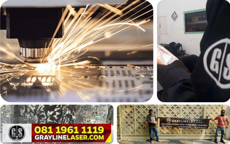 Pembatas Ruang Laser Cutting Depok