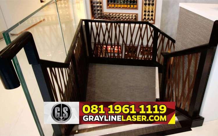 081 1961 1119 > GRAYLINE LASER | Railing Tangga Laser Cutting Legok Tangerang