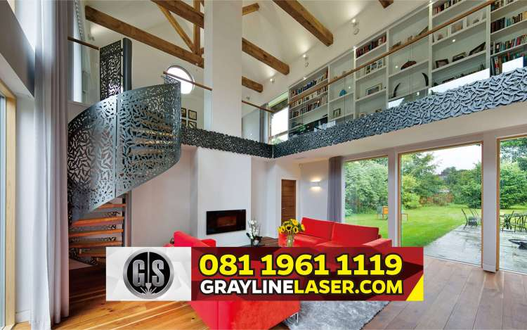 081 1961 1119 > GRAYLINE LASER | Railing Tangga Laser Cutting Ciputat Tangerang Selatan