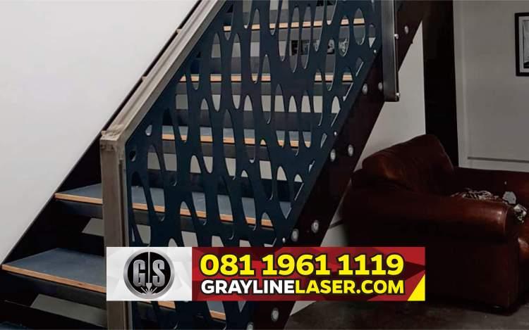081 1961 1119 > GRAYLINE LASER | Railing Tangga Laser Cutting Pasar Kemis Tangerang
