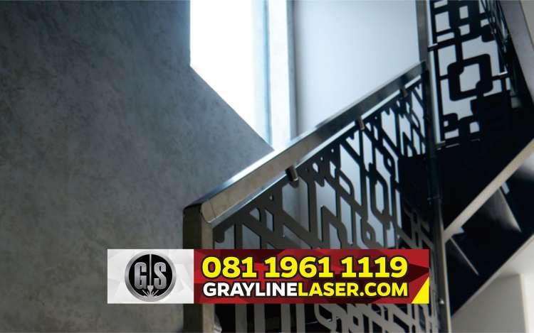 081 1961 1119 > GRAYLINE LASER | Railing Tangga Laser Cutting Jatiasih Bekasi