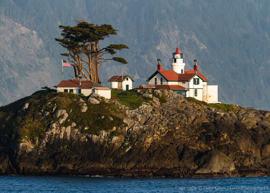 Photograph of Battery Point Lighthouse in Crescent City, California