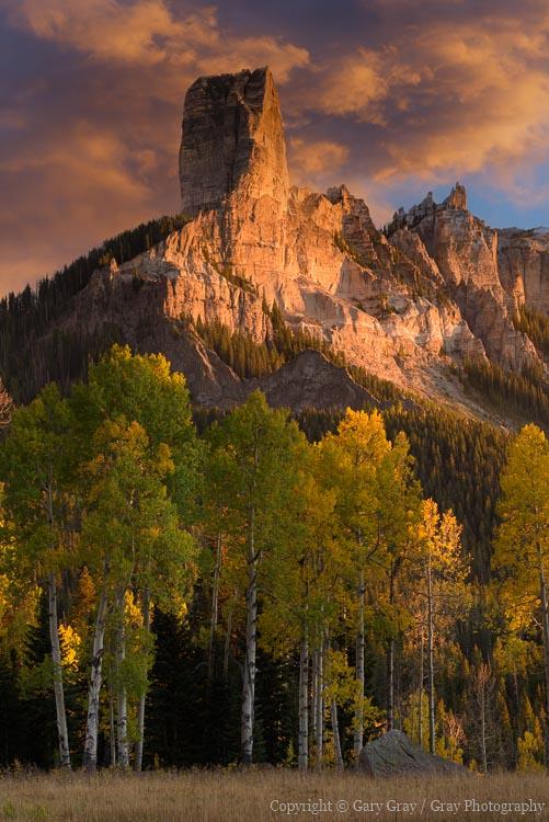 Photography in the Cimarron Mountains of Colorado